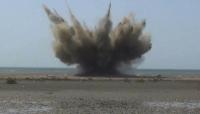حجة: الفرق الهندسية تتلف عشرات الألغام البحرية في ميدي