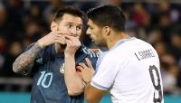 ميسي ينقذ الأرجنتين من الخسارة امام أوروغواي